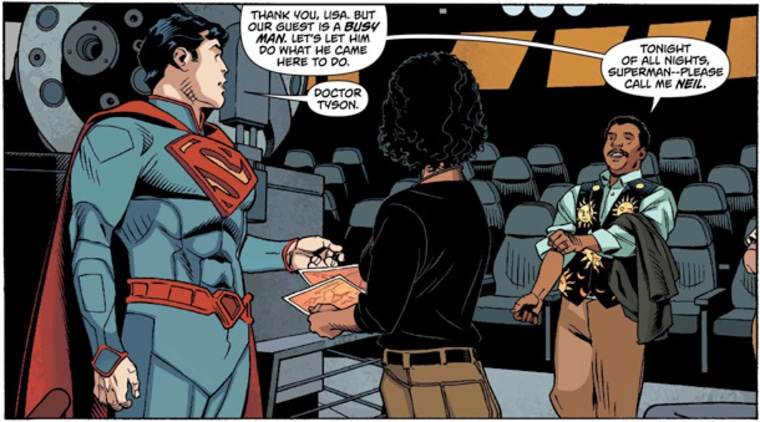 Astronomer Neil deGrasse Tyson helped DC Comics, home of the Superman comics, find a plausible star to be the host of the superhero's home planet, Krypton.