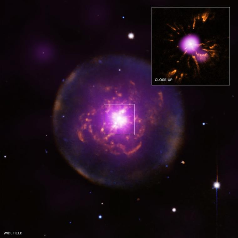 Planetary nebula Abell 30.