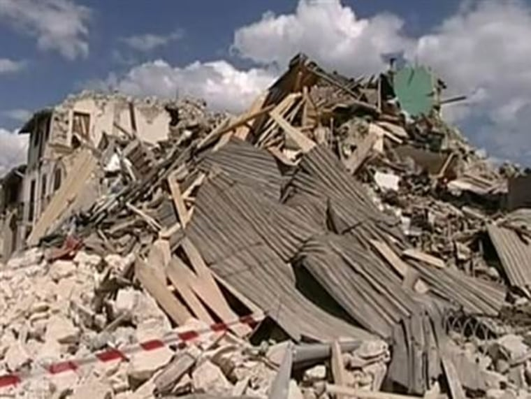 A magnitude-6.3 earthquake struck L'Aquila, in Italy's Abruzzo region at 3.32 a.m. on April 6, 2009, wrecking tens of thousands of buildings, injuring more than 1,000 people and killing hundreds of others in their sleep.