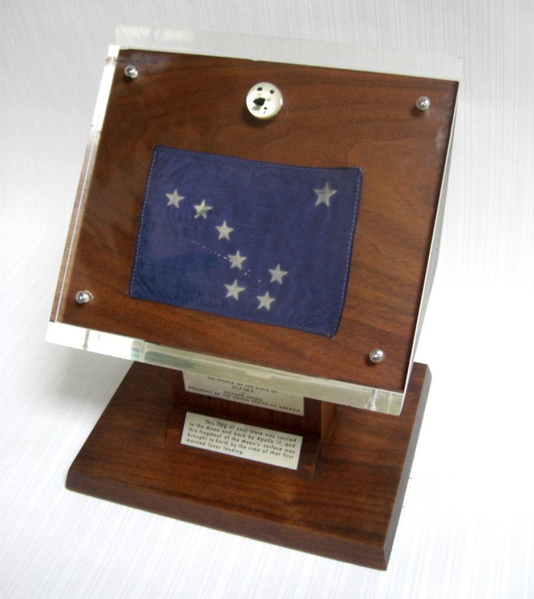 Alaska's Apollo 11 lunar sample display with five tiny moon rocks was recently recovered after having gone missing for 40 years.