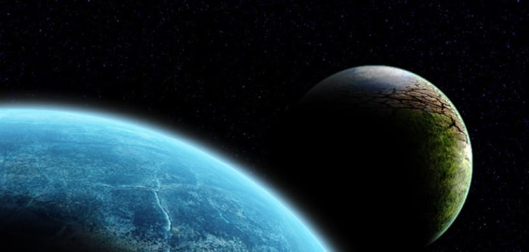 An artist's conception of the rogue planet Nibiru, or Planet X.