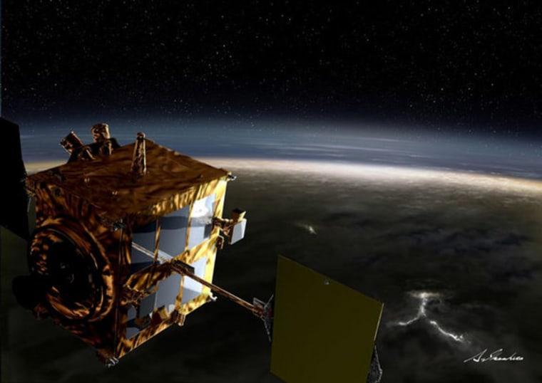 "Japan's Venus Climate Orbiter ""Akatsuki"" was designed to study both the atmosphere and surface of Venus."