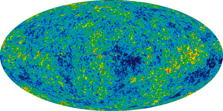 The detailed picture of the infant universe was created from nine years of WMAP data.