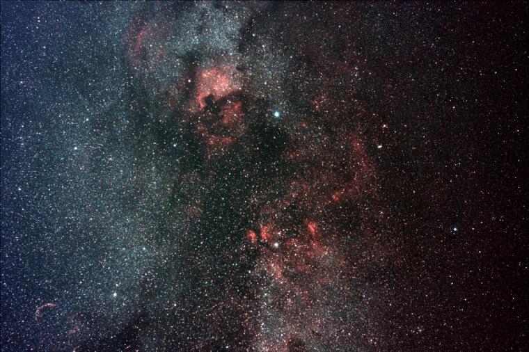 Skywatcher's photo of northern constellation Cygnus
