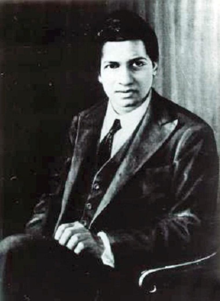 Image: Srinivasa Ramanujan