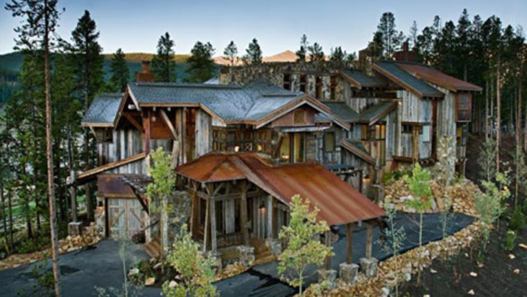 Among the 10 strangest abodes for sale, this Breckenridge, Colo., home,known as Calecho House, has a mining theme andis yours for $2.79 million.