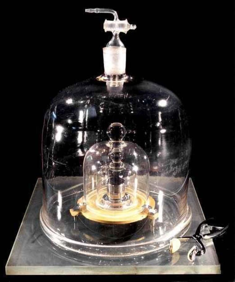 Image: International prototype kilogram