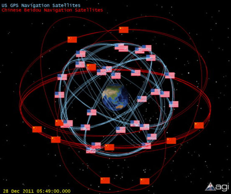 A new Chinese anti-satellite (ASAT) test could showcase an ability to reach medium-Earth orbit. Doing so, some analysts say, would underscore that country's ability to place the constellation of U.S. Global Positioning System navigational satellites at risk, but also a similar Chinese system.