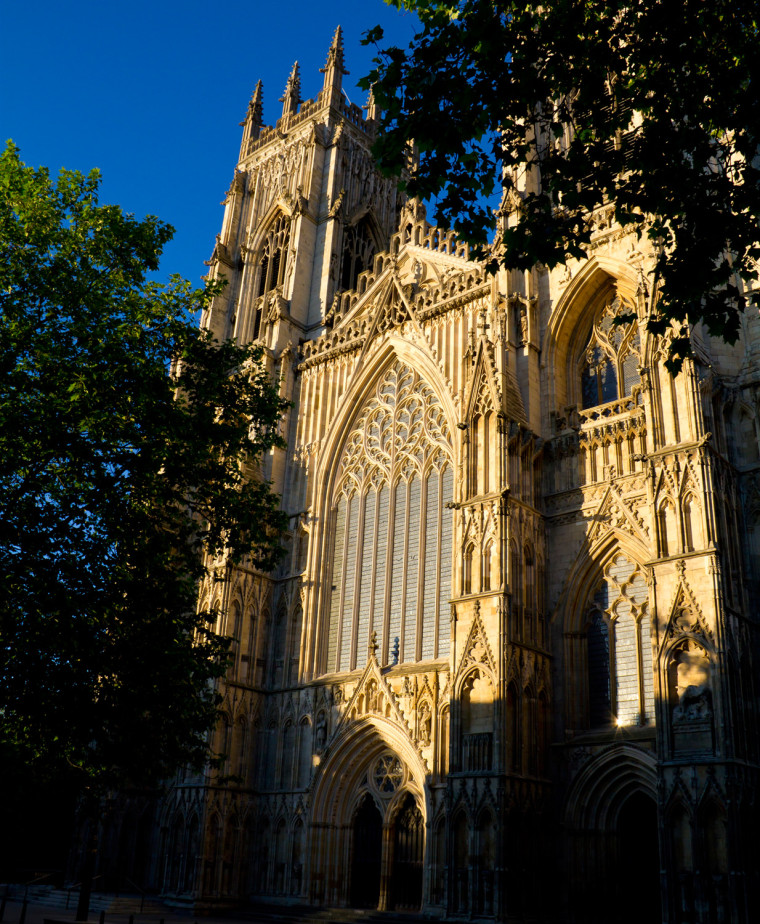 Acid rain has been destroying York Minister in England, butan extract that includes olive oil may help, preservationists say.