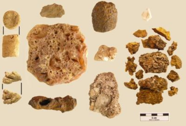 A cache of nearly 5,000-year-old shaman's stones were found in a rock shelter in Panama.