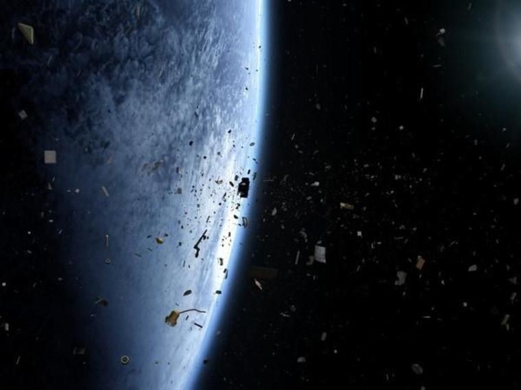 Image: Orbital debris