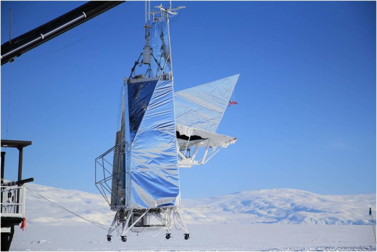 Image: EBEX telescope