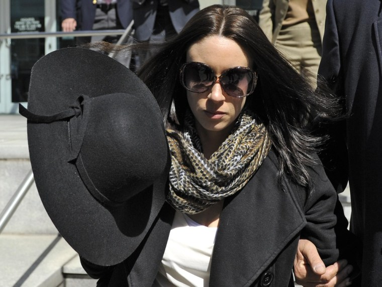 Image: Casey Anthony leaves the courthouse in Tampa