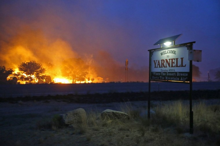 Image: Yarnell Hill Fire