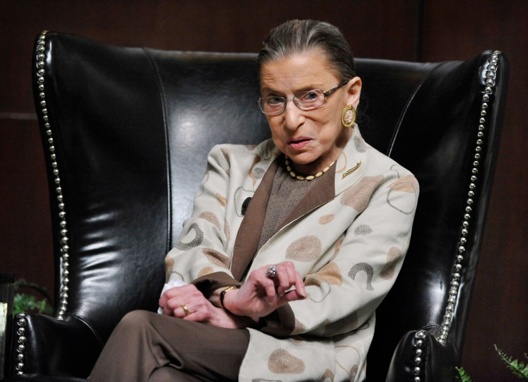 Image: Ruth Bader Ginsburg in Chicago on May 11, 2013