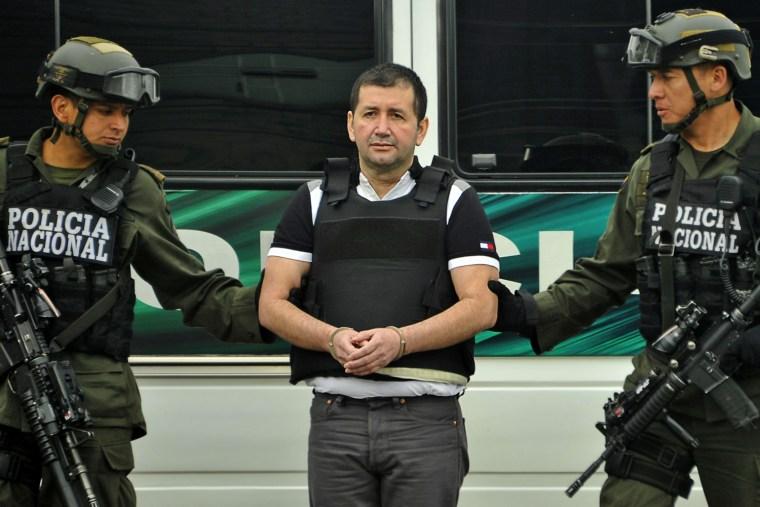 Image: Colombian drug trafficker Daniel Barrera