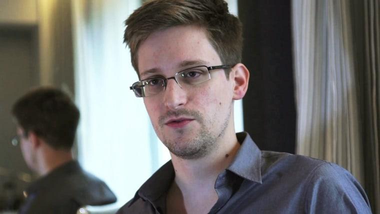 Image: NSA whistleblower Edward Snowden