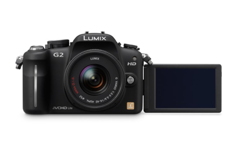 The DMC-G2 is the direct descendant of the Lumix G1, the first ever Micro Four Thirds camera.