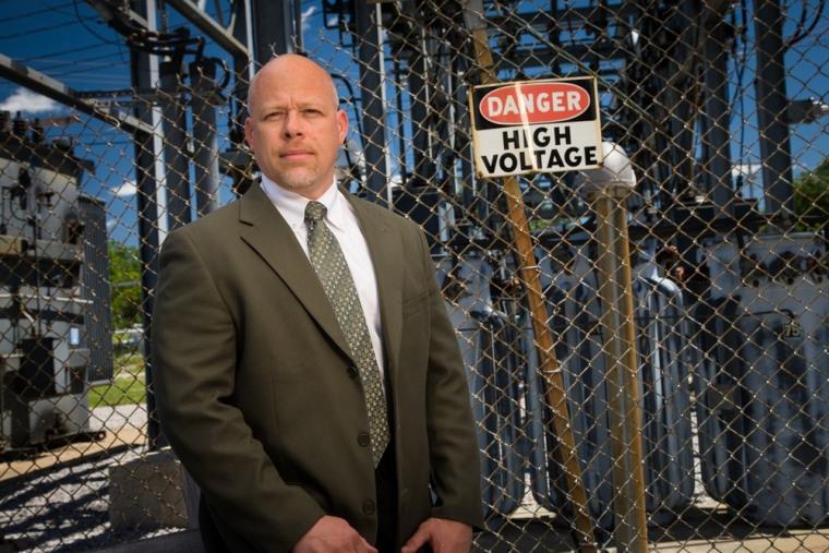 Image: Luke Lewis, city manager of Marceline, MO