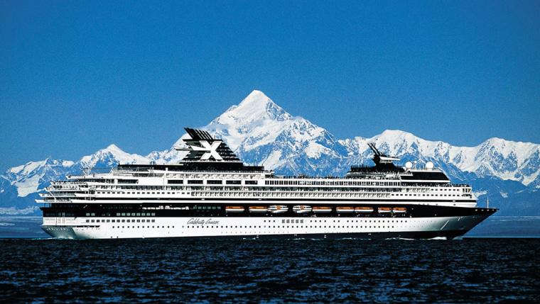 Image: Cruise ship in Alaska