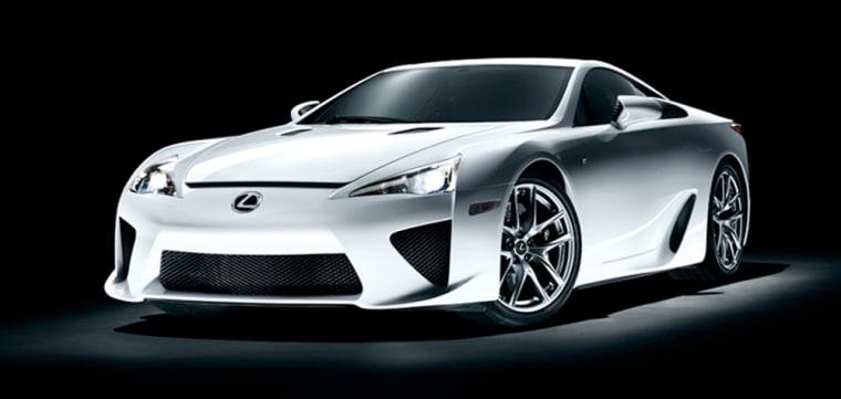 Image: Lexus LFA