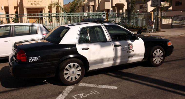 Image: Los Angeles Police Dept. Cruiser