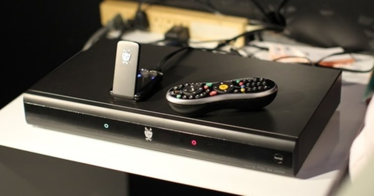 The TiVo Premiere is the smallest TiVo yet, a thin and diminutive box that holds only one CableCard and still lacks Wi-Fi. It hides a multicore processor inside that drives a new, HD UI that previews your program at all times.