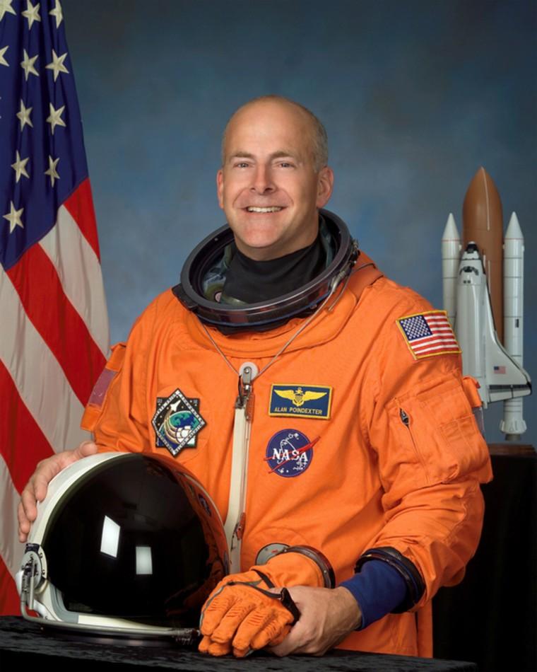 A portrait of NASA astronaut Alan G. Poindexter, veteran space shuttle pilot and commander.
