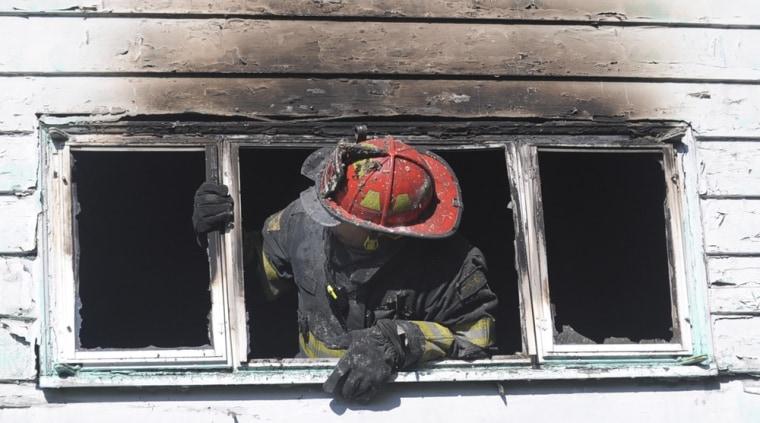 Image: House fire