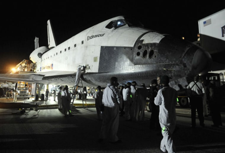 It may not be a final farewell for NASA's aging shuttle fleet. A new proposal would use their parts to build next-gen space rockets.