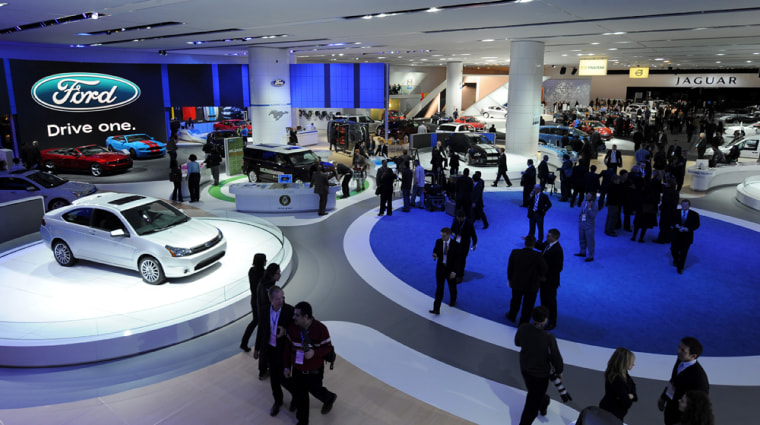 Image: The Ford display at the North American International Auto Show