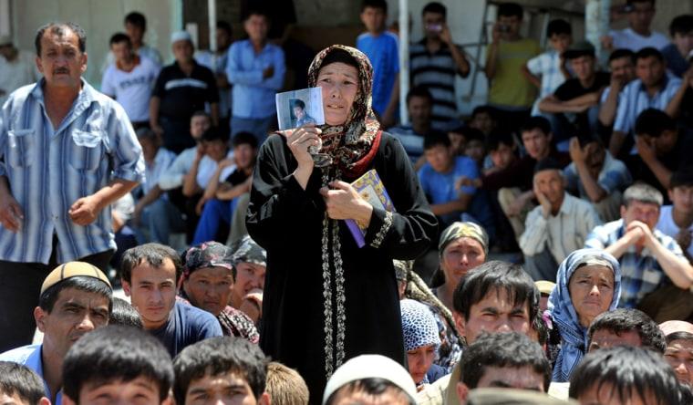 Image: KYRGYZSTAN-UZBEKISTAN-UNREST