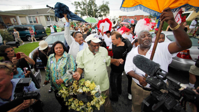 Image: Parade in the Lower Ninth Ward