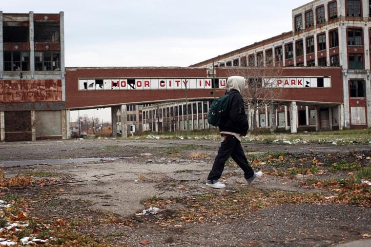 Image:Detroit Area Economy Worsens As Big Three Automakers Face Dire Crisis