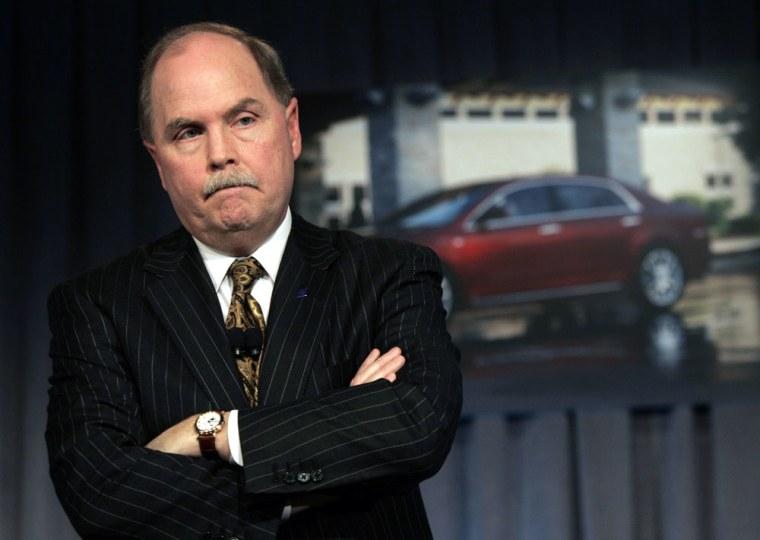 Image: General Motors CEO Fritz Henderson