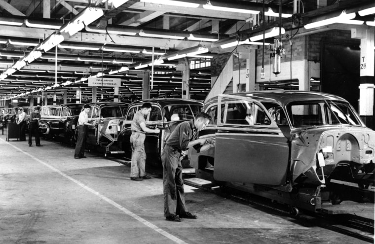 Image: General Motors plant, Euclid, Ohio, 1950