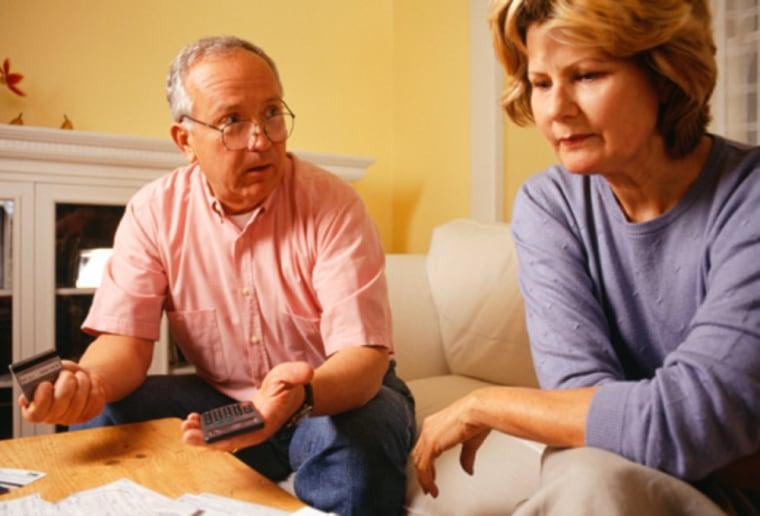 Image: Retirement discussion