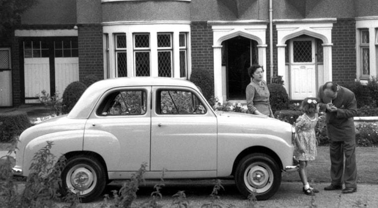 Image: Car In Suburbia