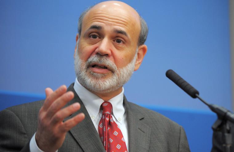 Image: Fed chairman Ben Bernanke