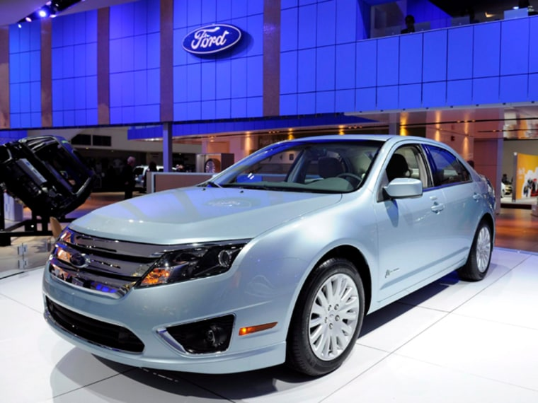 Image:  A Ford Fusion Hybrid