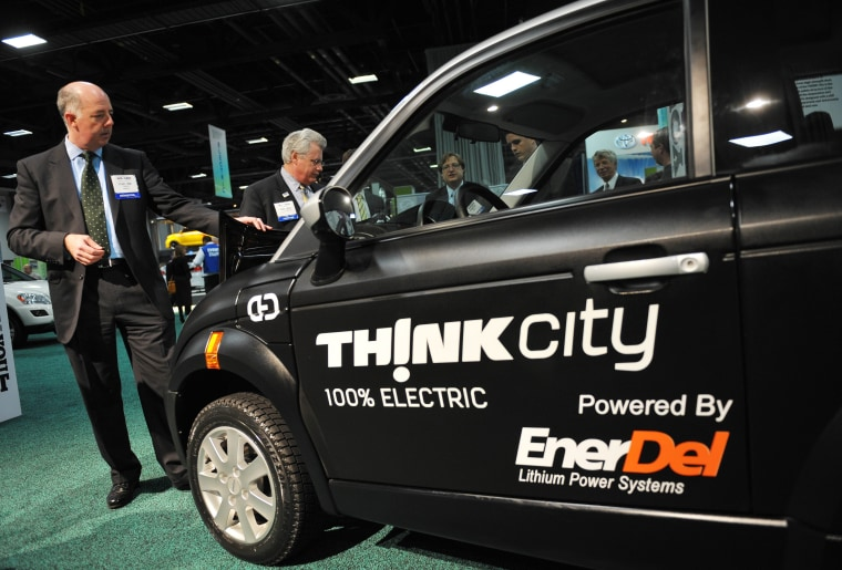 Image: Richard Canny, CEO of THINK electric cars