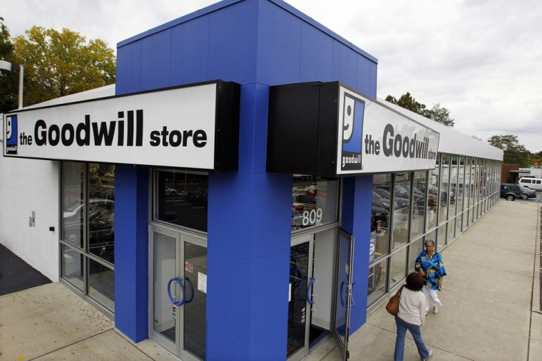 Image: Goodwill store in Paramus, N.J.