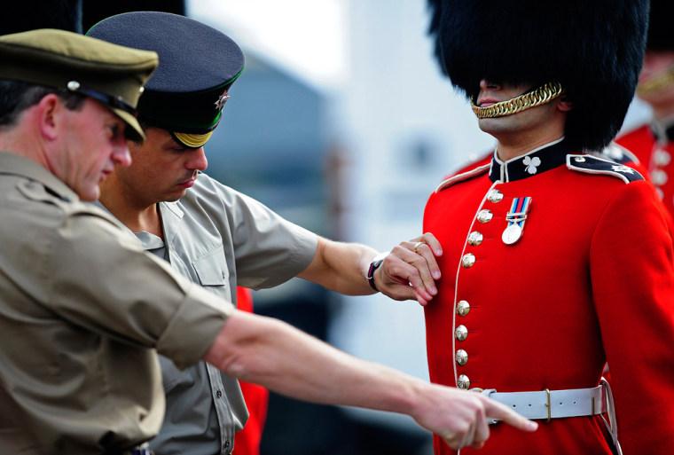 Image: Royal Wedding preperations