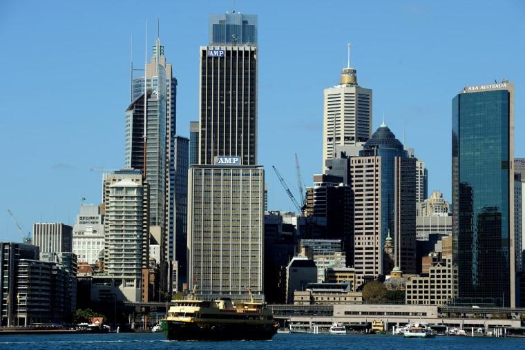 Image: The Sydney city skyline