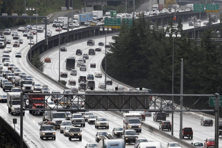 Image: Interstate 5 in Seattle