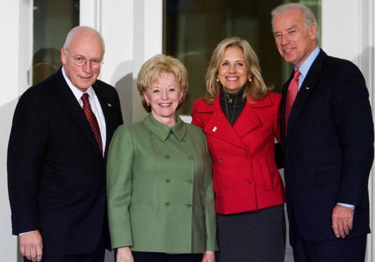 Dick Cheney, Lynne Cheney, Joe Biden, Jill Biden