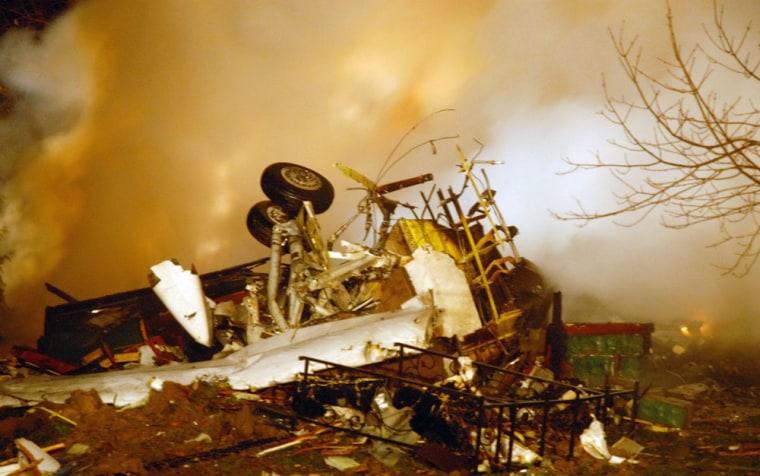 Image: crash of Continental 3407