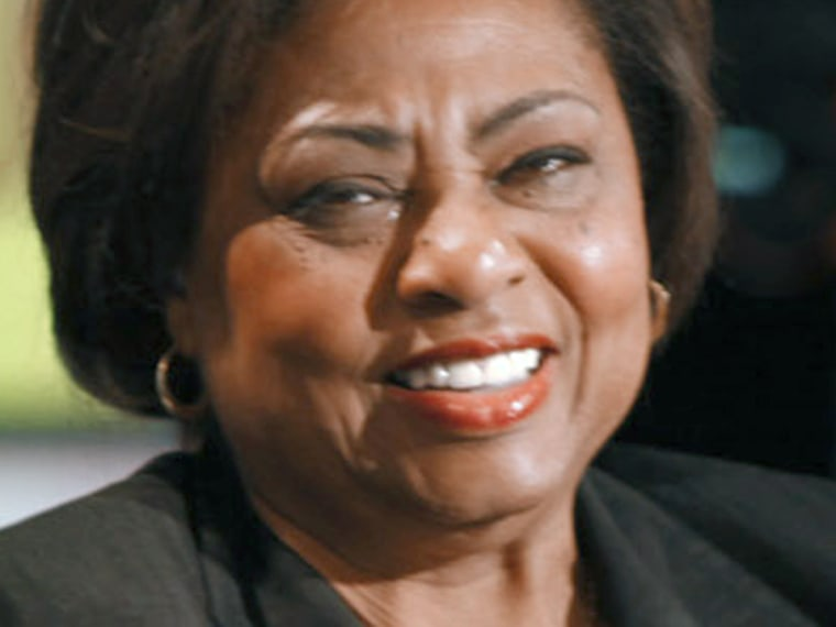 Image: Former Agriculture Department official Shirley Sherrod