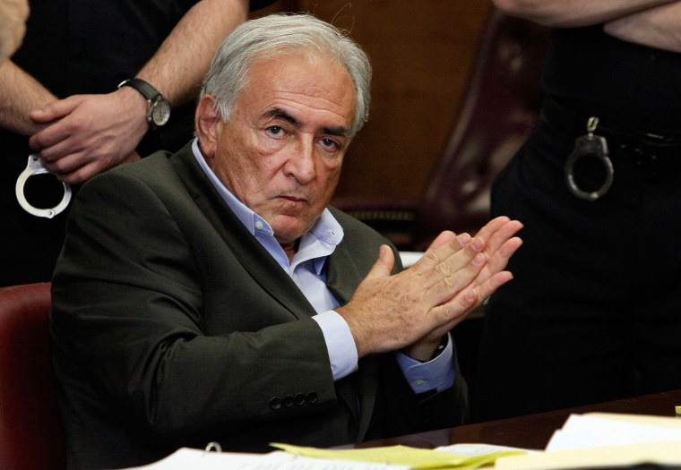 Image: Dominique Strauss-Kahn Appears In Court For Bail Hearing In Sexual Assault Case