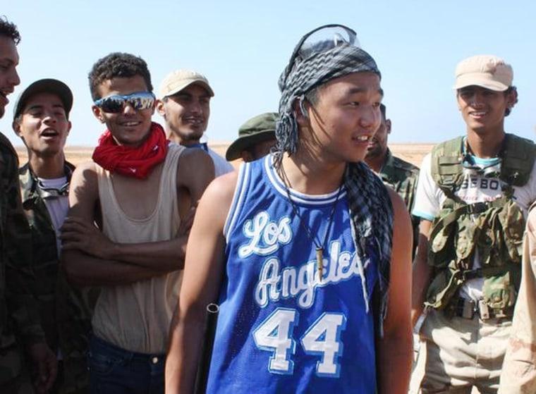 Image: Chris Jeon in Libya